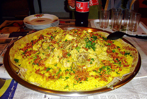 Filistin  mutfağı-Mansaf