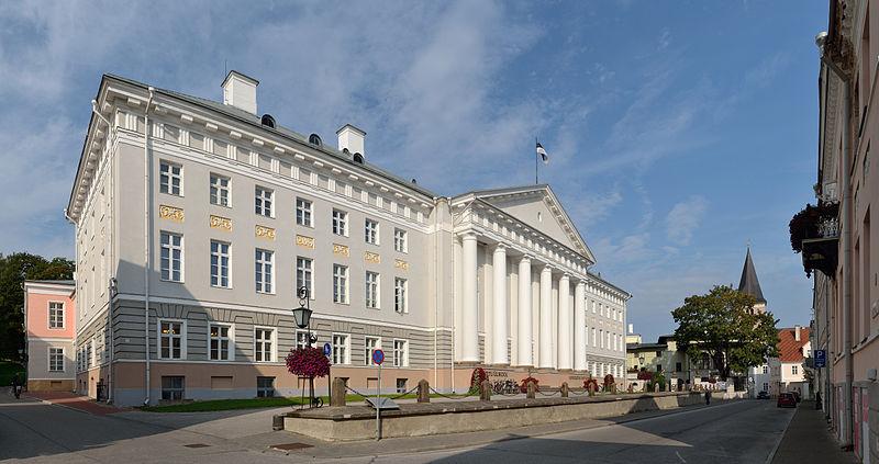 Tartu Üniversitesinin ana binası