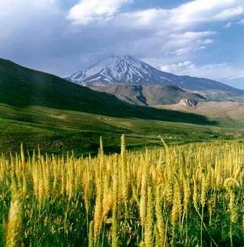 Demavent Dağı İran'ın en yüksek noktasıdır.