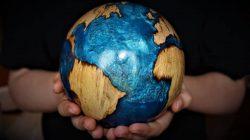 Tornada Ahşap Dünya Küresi Yapımı