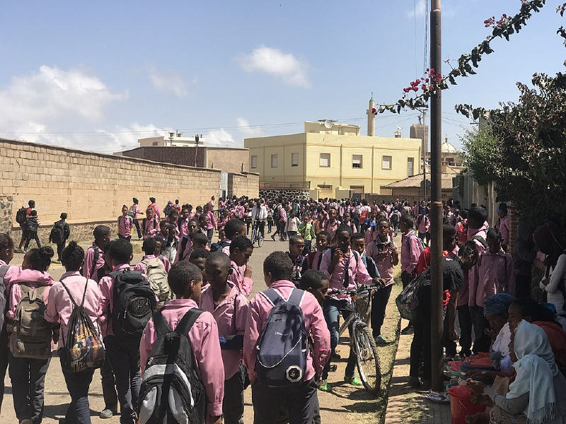 Eritreli öğrenciler
