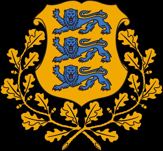 Estonya Arması