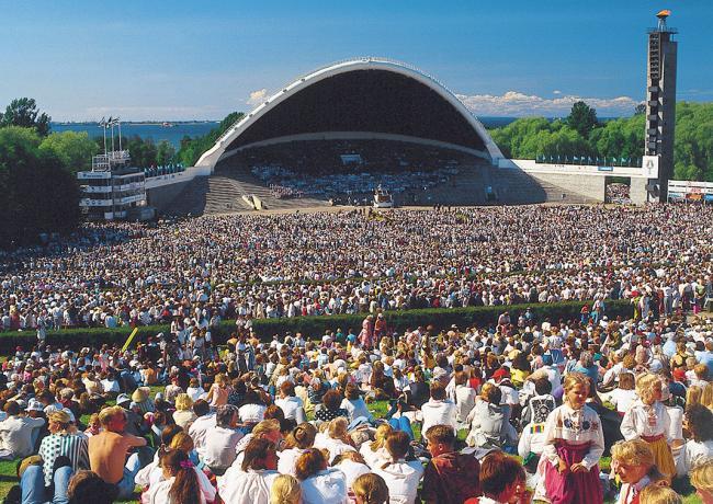 Estonyada  etkinlikler