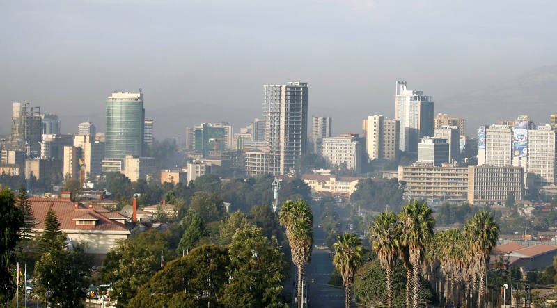 Başkent Addis Abeba