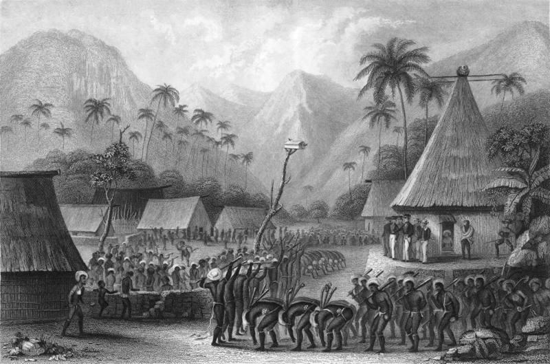 Fiji halkı arasına giren ve yaşayan ilk Avrupalılar