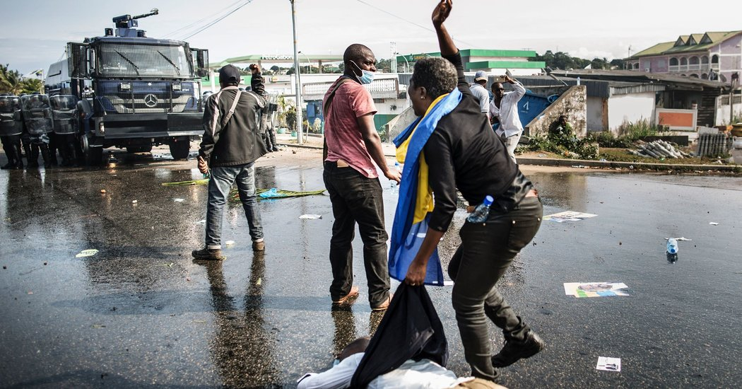 Gabon askeri darbe
