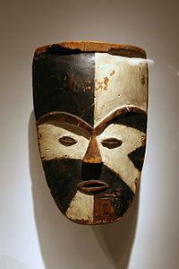 Gabon el sanatları - Maske