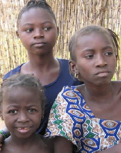 Genç Gambiyalılar