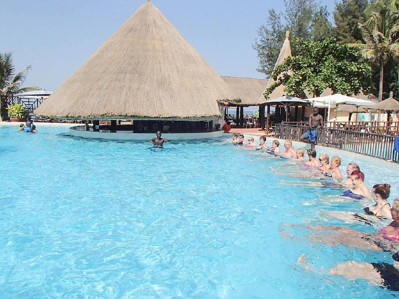 Gambiya'da Turistler