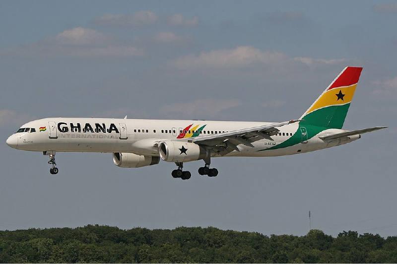 Gana Uluslararası Havayolları - Boeing 757