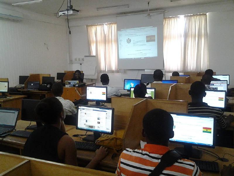 Gana eğitim sisteminin Gana Üniversitesi'ndeki bilgi ve iletişim teknolojisini uygulaması