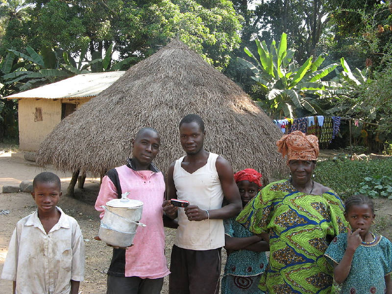Fouta-Djalon'da bir aile