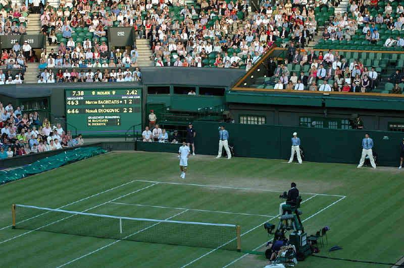 Wimbledon merkez kortu