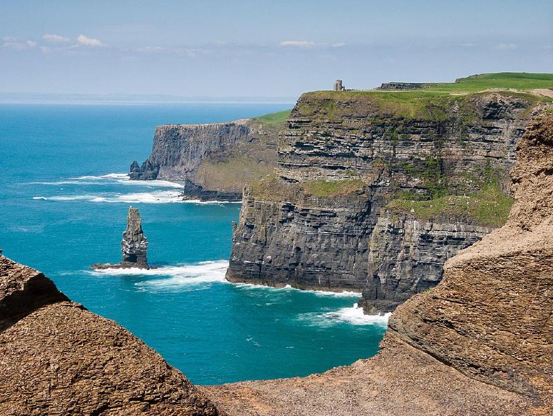 Atlantik Kıyısında Moher Kayalıkları