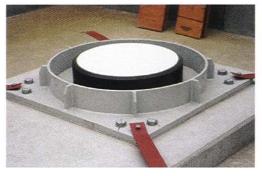 Şekil 3. Kayıcı Tabakalı Kauçuk İzolatör (SLR)