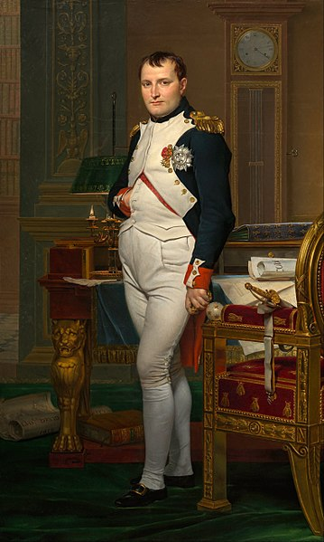 Hollanda'yı ele geçiren Napolyon Bonapart