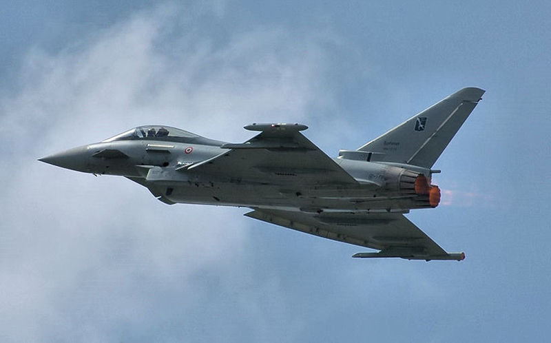 İtalyan Eurofighter Typhoon