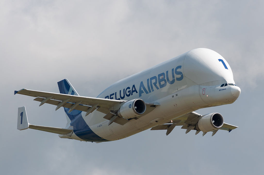 Airbus Beluga – Uçak Parçaları Taşıyan Uçak
