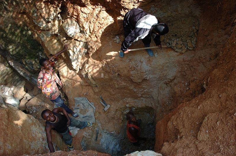 Demokratik Kongo Cumhuriyetinde  Maden  işçileri