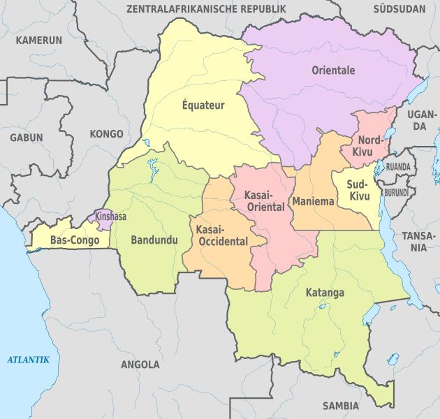 Demokratik  kongo İlleri