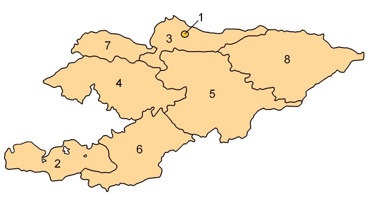 Kırgızistan'ın illeri