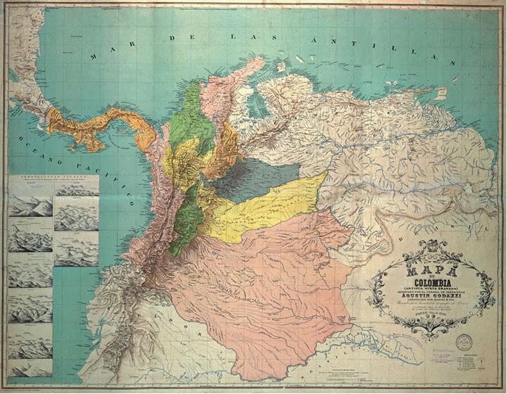 Kolombiya Birleşik Devletleri, 1863.