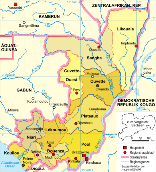 Kongo Cumhuriyeti illeri