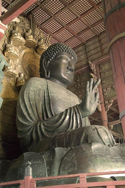 Nara'da bulunan Büyük Buda heykeli, MS 752.