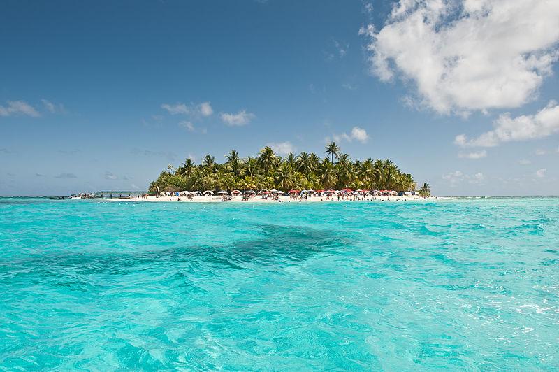 San Andres Takımadaları, Karayip Denizi.