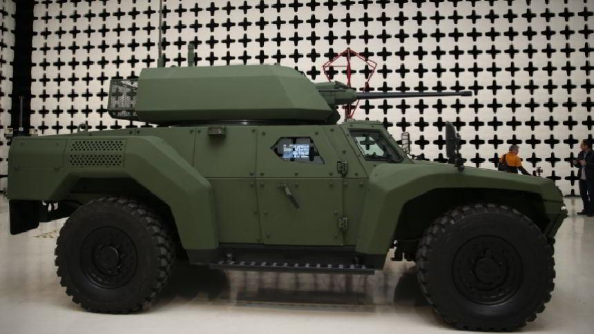 Türkiye'nin İlk Elektrikli Zırhlı Aracı Akrep II