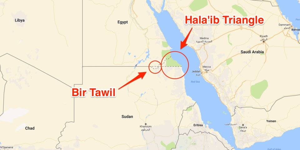 Bir Tavil – Mısır ve Sudan Arasındaki Kimseye Ait Olmayan Toprak Parçası