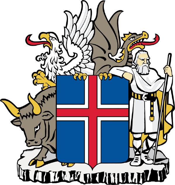 İzlanda arması