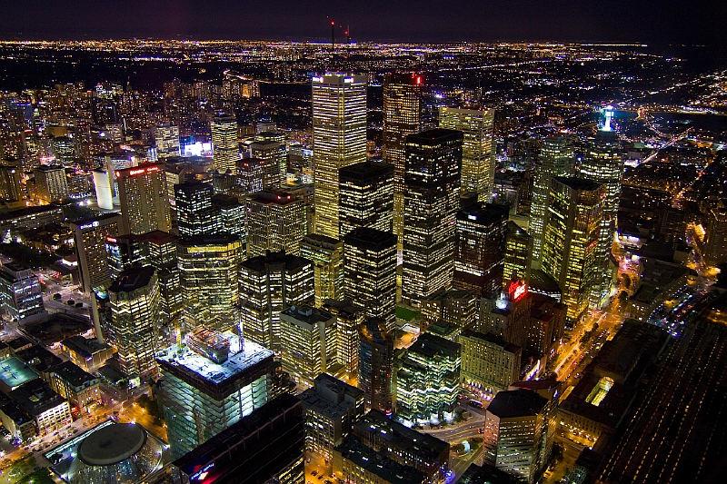 Toronto'nun finans merkezi