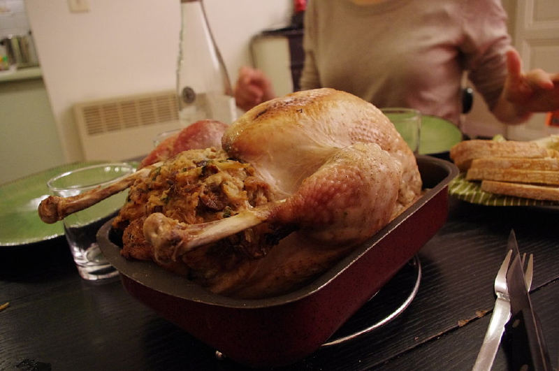 Kanada'da İngiliz kökenli Noel hindisi,