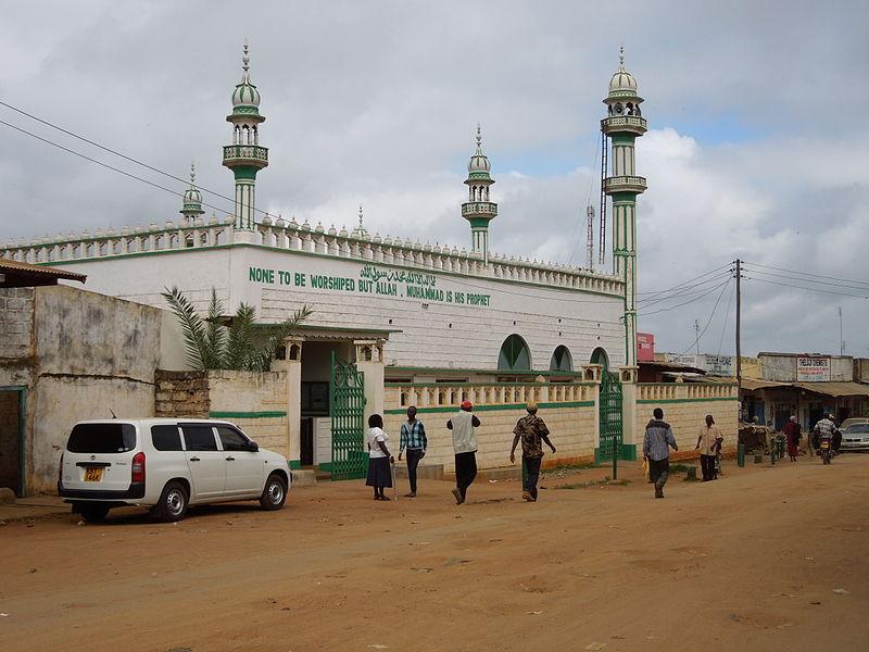 Mwingi'de bir Cami