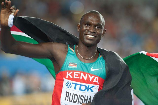 800 metrede Olimpiyat ve dünya rekortmeni  Kenyalı David Rudisha