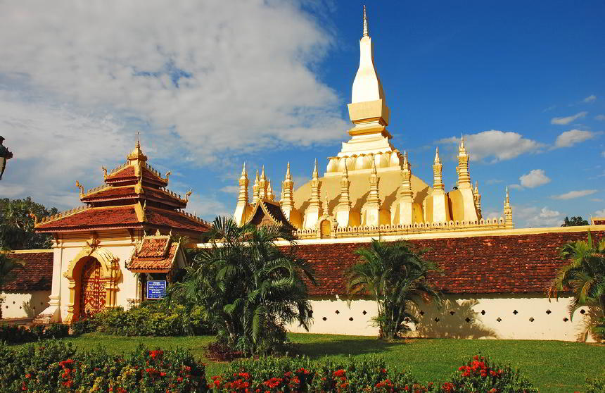 Pha That Luang, Laos'un milli sembollerinden biri