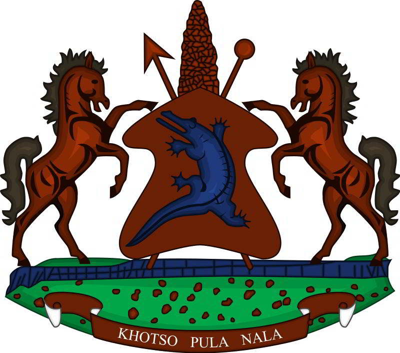 Lesotho arması