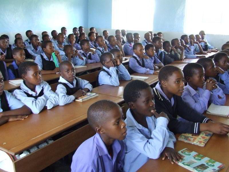 Lesotho'da bir sınıf