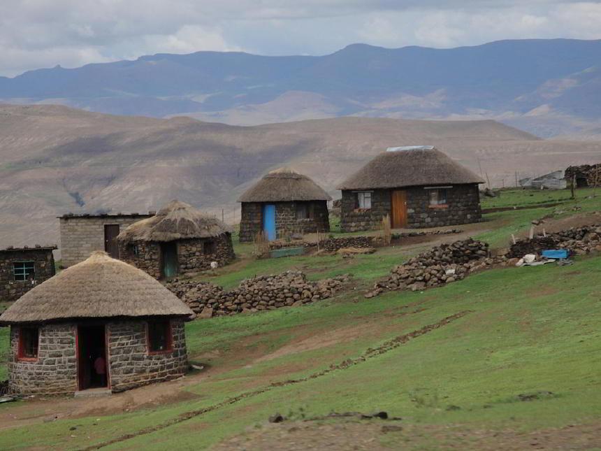Bir dağ köyü