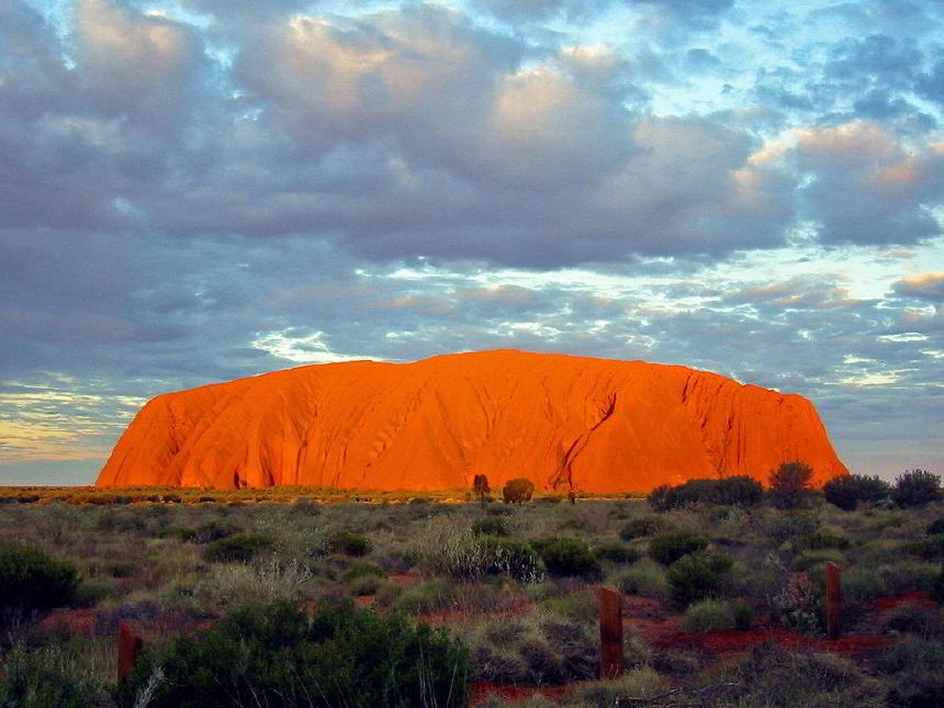 Uluru ve Kata Tjuta