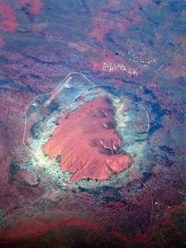 Uluru havadan resmi