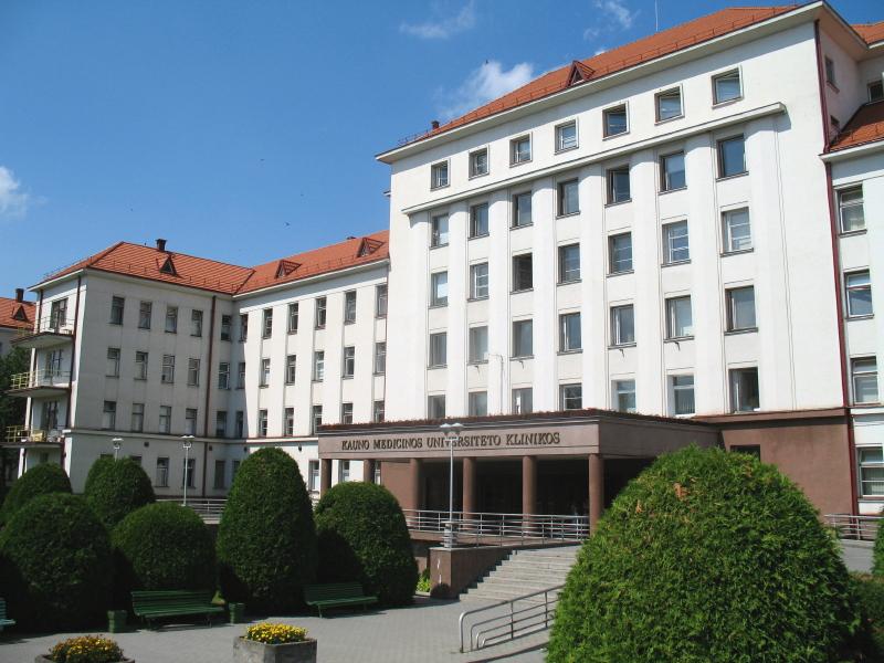 Kaunas Üniversitesi Sağlık Enstitüsü, ülkenin en büyük sağlık enstitüsüdür.