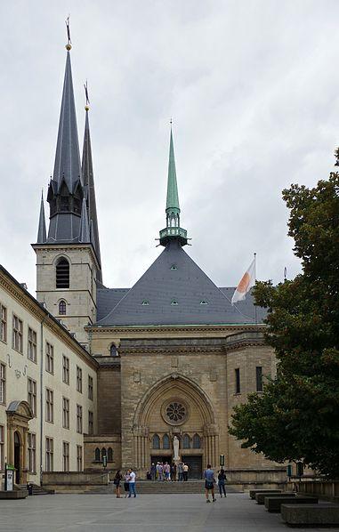 Notre-Dame Katedrali, Lüksemburg.