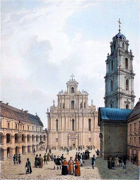 Vilnius Üniversitesi Kuzey Avrupa'nın en eski üniversitesidir.