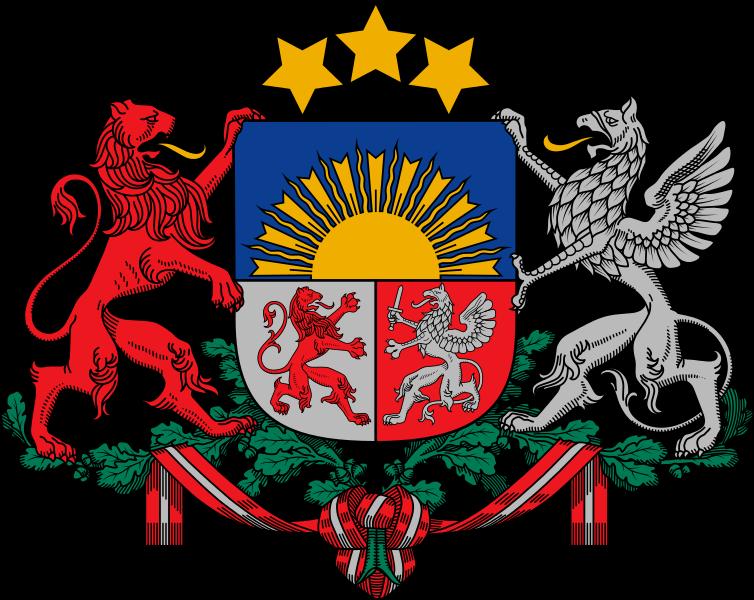 Letonya Arması