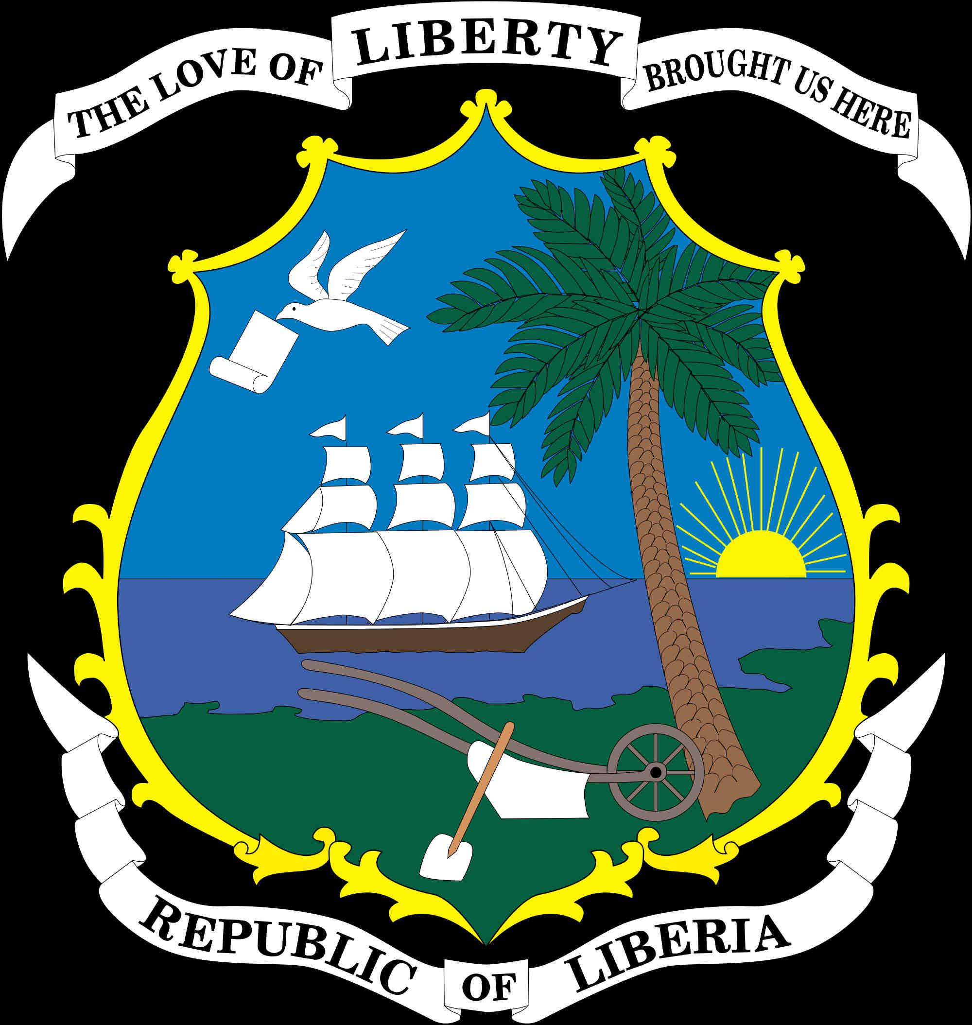 Liberya Arması