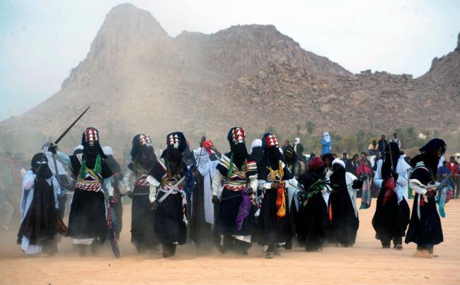 Libya'da bir festival