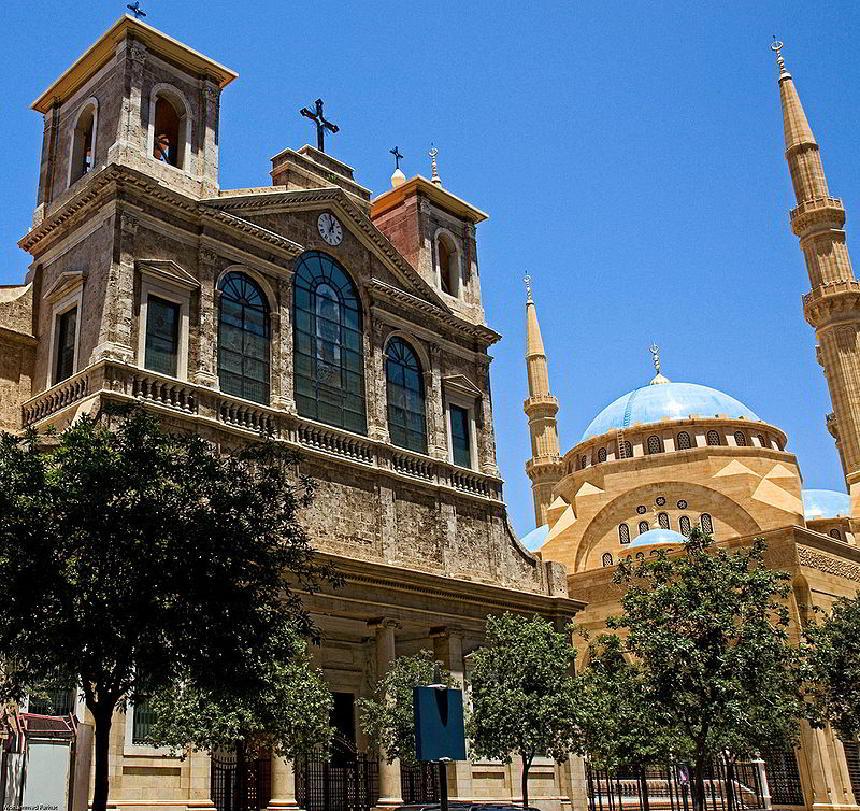 Lübnan pek çok farklı dinin bir arada yaşadığı bir ülkedir