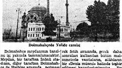 Chp döneminde  Deniz  Müzesi yapılan tarihi Bezm-i Alem Valide Sultan Camii
